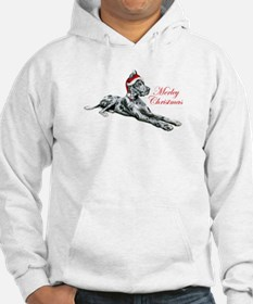 Great Dane Merley Christmas Hoodie