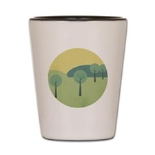 Whimsical Forest Shot Glass