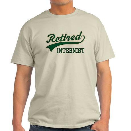 Retired Internist Light T-Shirt