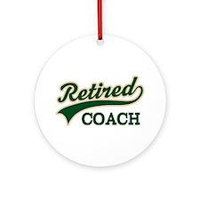 Retired Coach Ornament (Round)