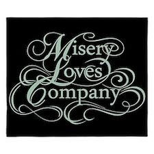 Misery Loves Company King Duvet