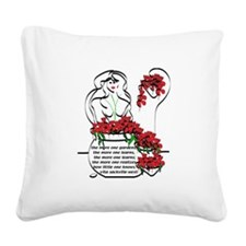 The more... Square Canvas Pillow