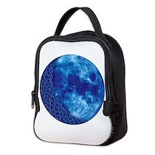Celtic Blue Moon Neoprene Lunch Bag