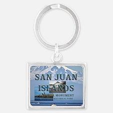 ABH San Juan Islands Landscape Keychain