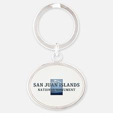 ABH San Juan Islands Oval Keychain