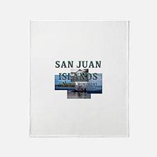 ABH San Juan Islands Throw Blanket