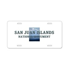 ABH San Juan Islands Aluminum License Plate