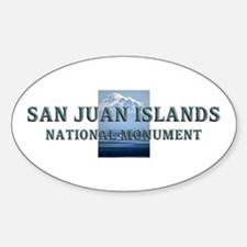ABH San Juan Islands Sticker (Oval)
