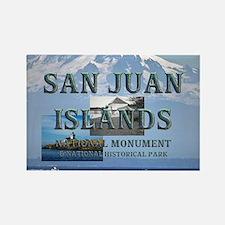 ABH San Juan Islands Rectangle Magnet