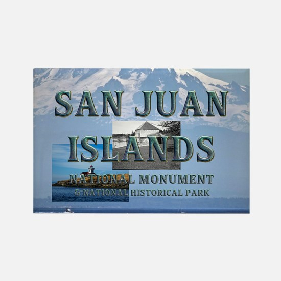 ABH San Juan Islands Rectangle Magnet