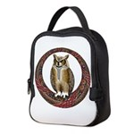 Celtic Owl Neoprene Lunch Bag