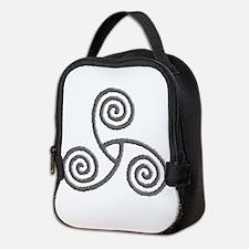 Celtic Triple Spiral Neoprene Lunch Bag