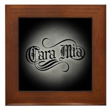 Cara Mia Framed Tile