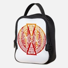Celtic Dragons Fire Neoprene Lunch Bag
