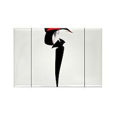 High Fashion - Josie Rectangle Magnet