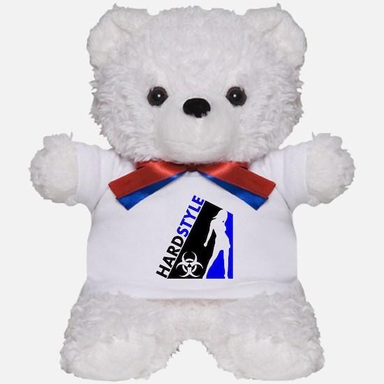 Hardstyle Dancer and Biohazard design Teddy Bear
