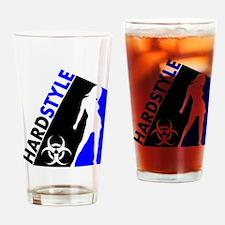 Hardstyle Dancer and Biohazard design Drinking Gla