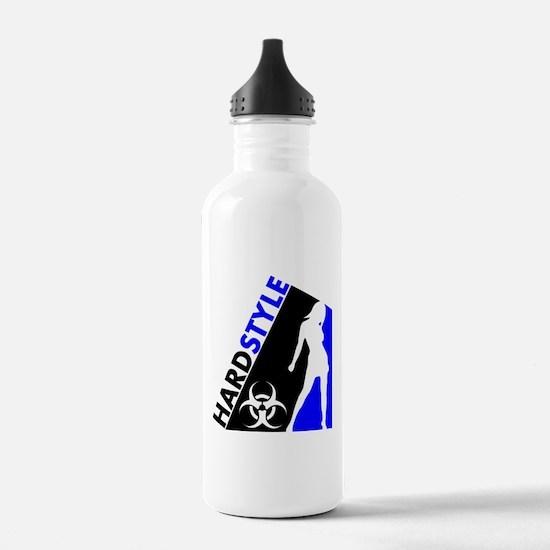 Hardstyle Dancer and Biohazard design Water Bottle