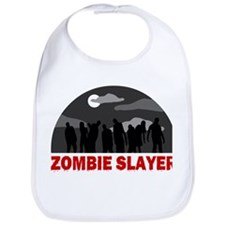 Zombie Slayer design Bib