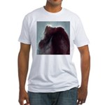 Horsehead Nebula Fitted T-shirt (Made in