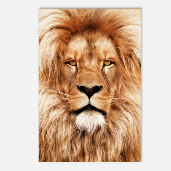 Lion - The King Postcards (Package of 8)