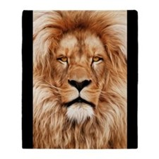 Lion - The King Throw Blanket