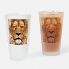 Lion - The King Drinking Glass