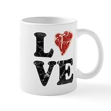 Vintage Love Meat Mug