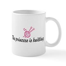 The Princess is Knitting Mug