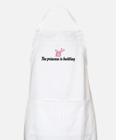 The Princess is Knitting BBQ Apron