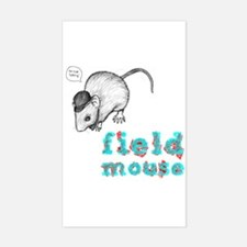 Fieldmouse Rectangle Decal