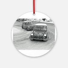 Mini Rally Ornament (Round)