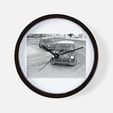 Mini Rally Wall Clock