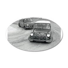 Mini Rally Wall Decal