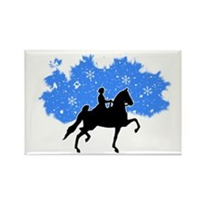 American Saddlebred Rectangle Magnet