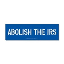 Abolish the IRS Car Magnet 10 x 3