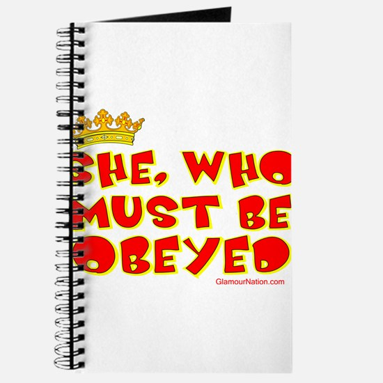 She who must be obeyed red Journal