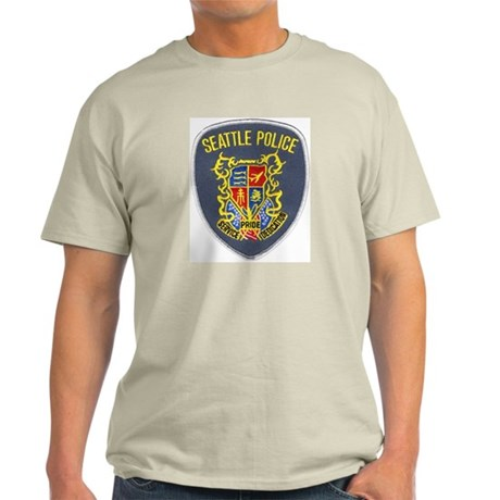 Seattle Police Ash Grey T-Shirt