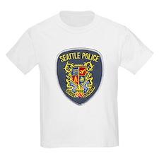Seattle Police Kids T-Shirt