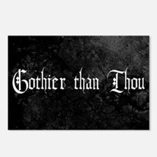 Gothier Than Thou Postcards (Package of 8)