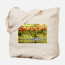 I smile because you are my sister... Tote Bag