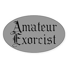 Amateur Exorcist Decal
