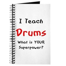 teach drums Journal