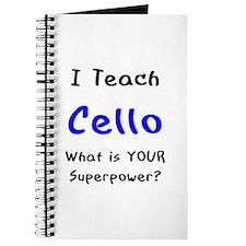 teach cello Journal