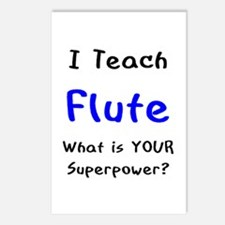 teach flute Postcards (Package of 8)