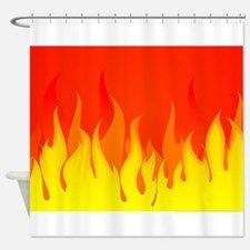 Fires Shower Curtain