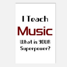 teach music Postcards (Package of 8)