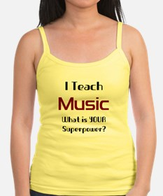 teach music Jr.Spaghetti Strap