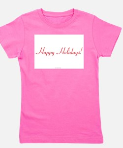 Unique Personalized christmas decorations Girl's Tee