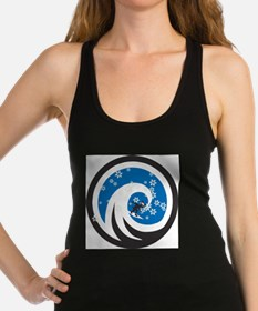 Wave Hound Holiday Racerback Tank Top